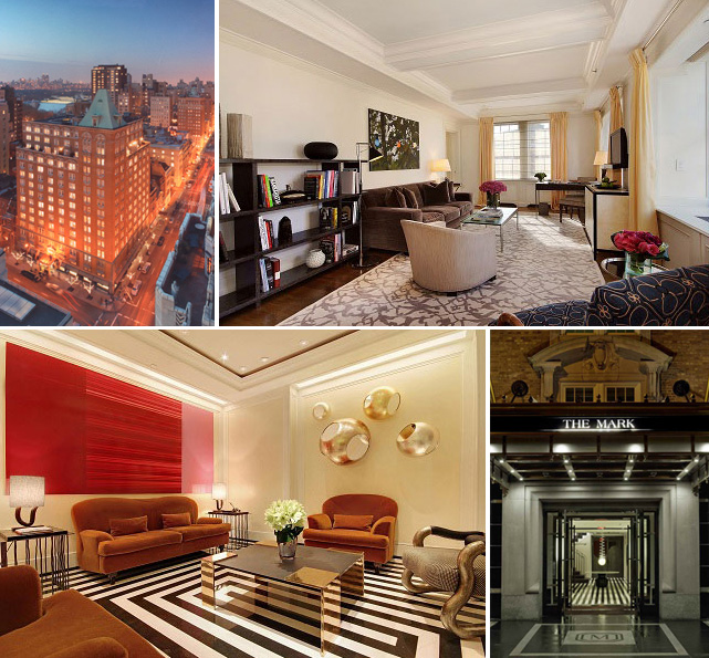You better check yourself in at The Mark Hotel  The Mark Hotel New York  announced its partnership. new york   The Metro Perspective