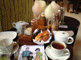 Image result for charlie and the chocolate factory afternoon tea